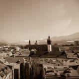Stadt von Innsbruck Stockfotografie