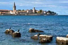 Stadt von Istria Lizenzfreie Stockbilder