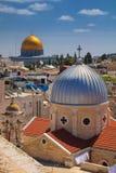 Stadt von Jerusalem stockfoto