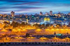 Stadt von Jerusalem lizenzfreies stockfoto