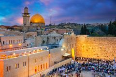 Stadt von Jerusalem lizenzfreie stockfotos