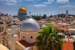 Stadt von Jerusalem stockbild