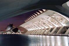 Stadt von Künsten und von Wissenschaften in Valencia, Spanien Lizenzfreies Stockbild