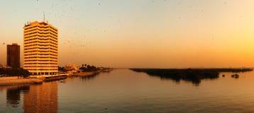 Stadt von Karachi lizenzfreies stockbild