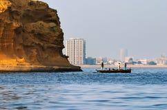 Stadt von Karachi, Pakistan lizenzfreie stockbilder