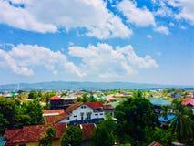 Stadt von Kendari stockfotos