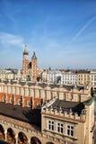Stadt von Krakau in Polen Stockfotos
