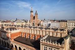 Stadt von Krakau in Polen Lizenzfreies Stockfoto