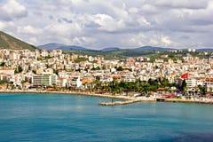 Stadt von Kusadasi stockbild
