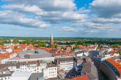 Stadt von Lübeck Deutschland stockbilder