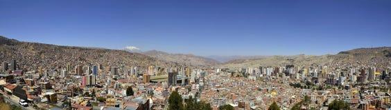 Stadt von La Paz Bolivien Killi Killi von der Veranschaulichung lizenzfreies stockbild