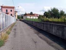 Stadt von La Spezia Stockbild