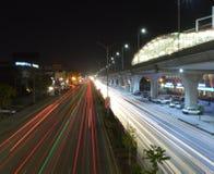 Stadt von Lichtern stockfoto
