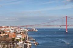 Stadt von Lissabon in Portugal Stockbilder