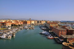 Stadt von Livorno Lizenzfreie Stockfotografie