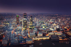 Stadt von London Lizenzfreie Stockfotos