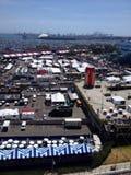 Stadt von Long Beach Kalifornien Stockbilder