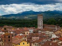 Stadt von Lucca Stockfoto