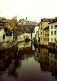 Stadt von Luxemburg Stockfotos