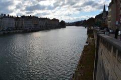 Stadt von Lyon, von Schönheiten und von Landschaft stockfoto
