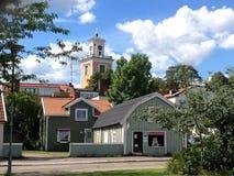 Stadt von Mönsterås 9 Stockbild