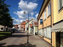 Stadt von Mönsterås 6 Stockfotografie