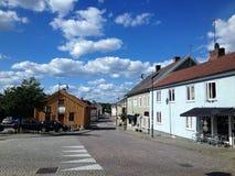 Stadt von Mönsterås 2 Stockbild