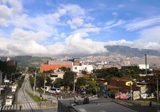 Stadt von Medellin, Antioquia, Kolumbien lizenzfreies stockbild