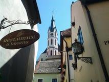 Stadt von Mittelalter Lizenzfreie Stockfotos