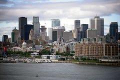 Stadt von Montreal Lizenzfreie Stockfotos