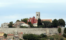 Stadt von Motovun Lizenzfreie Stockbilder