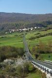 Stadt von Navarra - Spanien Stockfotografie