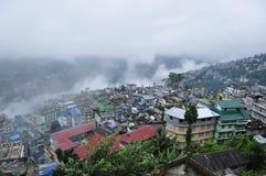 Stadt von Nepal Lizenzfreies Stockbild