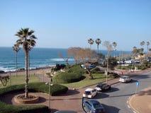 Stadt von Netanja israel Landschaften der Küstenlinie des Mittelmeeres Stockbilder