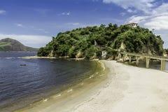 Stadt von Niteroi, Brasilien lizenzfreies stockbild