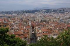 Stadt von Nizza, Frankreich Stockfotografie