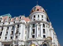 Stadt von Nizza - Hotel Negresco Lizenzfreies Stockbild