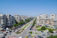 Stadt von oben Lizenzfreie Stockbilder