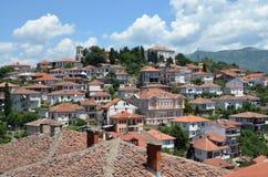 Stadt von Ohrid Stockbild