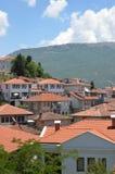 Stadt von Ohrid Lizenzfreie Stockbilder