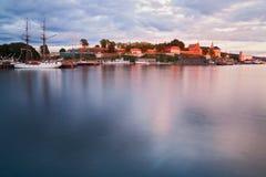 Stadt von Oslo Stockfoto