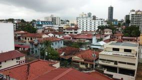Stadt von Panama Lizenzfreies Stockfoto