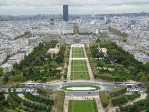 Stadt von Paris Stockbild