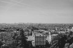 Stadt von Paris stockfotos