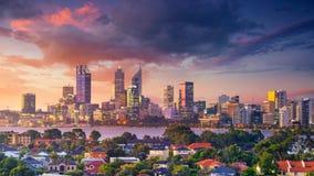 Stadt von Perth stockfotos