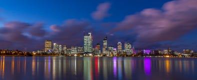 Stadt von Perth Stockfotografie
