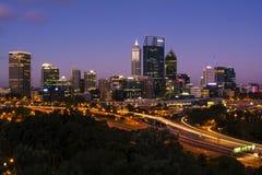 Stadt von Perth Lizenzfreie Stockbilder