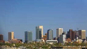 Stadt von Phoenix im Stadtzentrum gelegen Stockfotografie