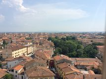 Stadt von Pisa Stockbilder