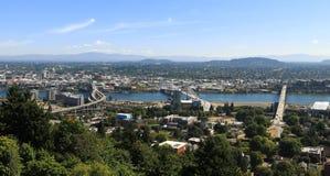 Stadt von Portland Lizenzfreies Stockfoto